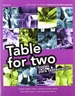 Portada del libro Table for two. Inglés para restauración